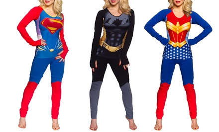 Undergirl x DC Comics Anatomical Pajama Sets
