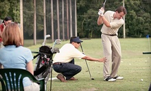 Group Golf Clinics with Nine-Hole Par-3 Rounds at CommonGround Golf Course (Up to 53% Off). Two Options Available.