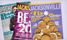 "One- or Two-Year Subscription to ""Jacksonville Magazine"" (Up to 58% Off)"