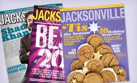 One- or Two-Year Subscription to &quot;Jacksonville Magazine&quot; (Up to 58% Off)