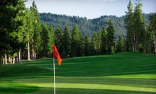 $49 for a Weekday or Weekend Golf Outing for Two with Cart at The Highlands Golf Course in Post Falls (Up to Half Off)