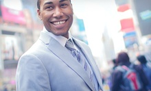 Men's Suits, Slacks, Shirts, and Ties at Warehouse Suit Sale (Half Off). Two Options Available.