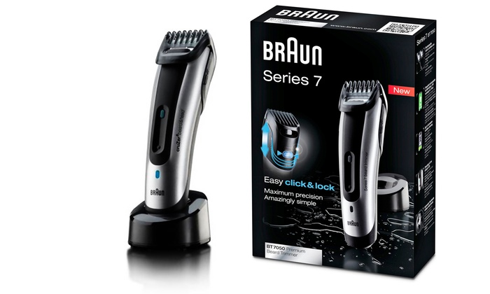 braun series 7 beard trimmer groupon. Black Bedroom Furniture Sets. Home Design Ideas