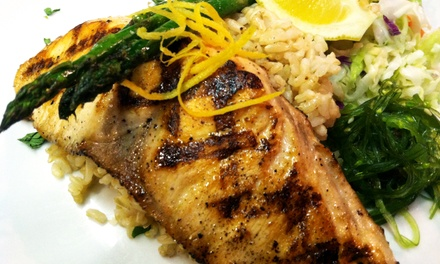 Seafood at Five Hooks Fish Grill (Up to 50%  Off). Two Options Available.