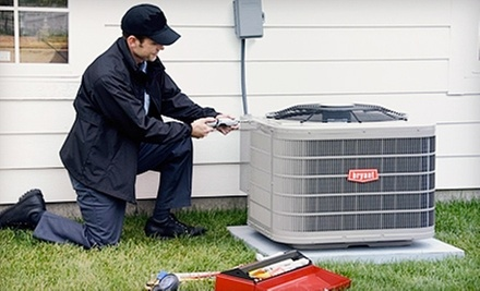 21-Point HVAC Inspection or UltraMax EZUV Germicidal Light from Blue Dot Services of Maryland (Up to 67% Off)