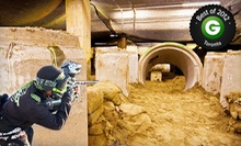 $25 for Four Hours of Paintball for Two with Gear, Paintballs, and Unlimited HPA at Defcon Paintball ($89.96 Value)