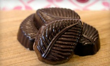 Four or Six Groupons, Each Good for $5 Worth of Handcrafted Chocolates at Chocolate Therapy (Half Off)