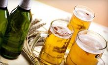 $13 for a Six-Beer Sampler and 64-Ounce Take-Home Growler at Uptown Market ($26 Value)