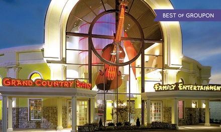 groupon daily deal - 2 Nights for Two Adults and Up to Four Kids in a Standard Room with Activity Package at Grand Country Inn in Branson, MO