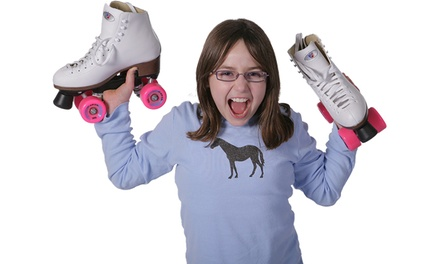 Roller Skating and Skate Rental for Two or Four or Family Outing Package at Orbit Skate Center (Up to 50% Off)
