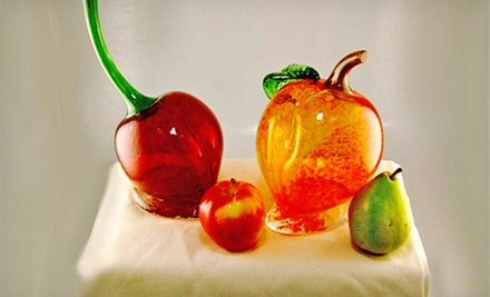 Spring Fruit Glass-Blowing Project for One or Two at Uptown Glassworks (Up to 52% Off)
