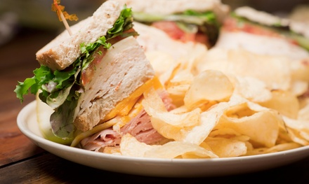 Sandwiches and Drinks for Two or Four at The Eagle Scoop (Up to 50% Off)