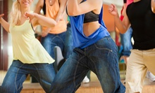 10 or 20 Zumba Fitness Classes at Nadia Eftedal's Rhythm Room (Up to 70% Off)
