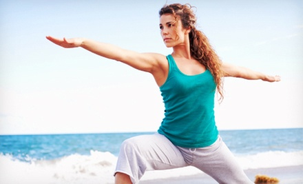 10 or 20 Small Group Yoga Classes from Oceanfront Fitness LLC (Up to 87% Off)