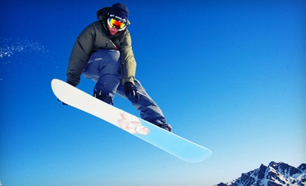 Discover Snowboarding Lesson with Rentals and Lift Tickets for One or Two at Stony Mountain Ski Area (Up to 53% Off)