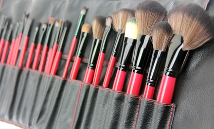 Beaute Basics 24-Pc. Cosmetic Brush Set