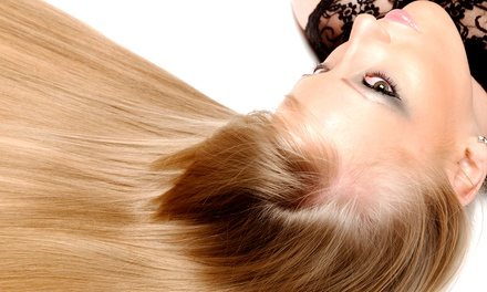 Keratin Straightening Treatment and Haircut for One or Two at A'Lure Hair Design (Up to 80% Off)