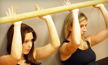 5 or 10 BarreAmped Fitness Classes at Studio 3 Fitness (Up to 61% Off)