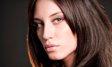 Haircut and Style with Option for Partial or Full Highlights at De Grance' Salon and Day Spa (Up to 61% Off)