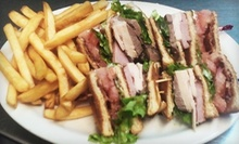 Caf Food and Drinks at Caf Perks (Up to 52% Off). Two Options Available.