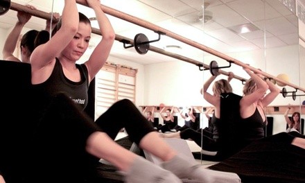 $60 for One Month of Unlimited Classes for New Students at The Bar Method ($100 Value)