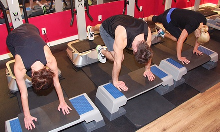 One Month of Unlimited Whole-Body-Vibration Small Group Classes at Pure Vibe Fitness Studio (Up to 54% Off)
