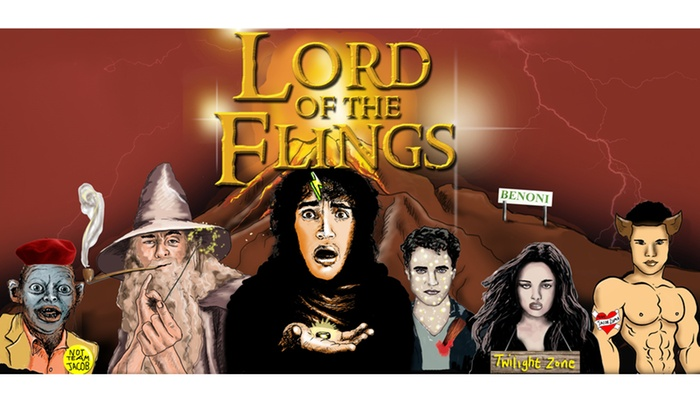 Andrew Simpson - Joburg Theatre: Two Tickets for Lord of the Flings