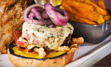 American Food and Drinks for Two or Four at Roxy & Dukes Roadhouse (Up to 51% Off)