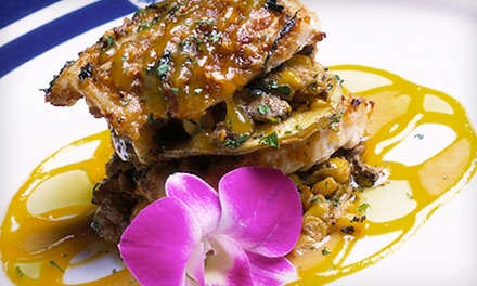 $29 for Upscale Food and Drinks at Marina Grog & Galley ($ Value)