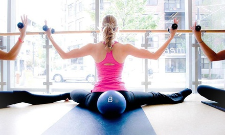 Four barre3 Fitness Classes or One Month of Unlimited barre3 Fitness Classes at barre3 (Up to 54% Off)
