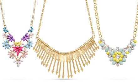 $10 Statement Necklaces. Multiple styles Available.