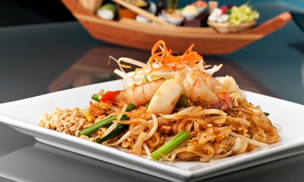 Chinese and Japanese Food for Dinner at Eastern Asian Bistro (Up to 50% Off). Four Options Available.