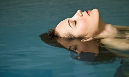 $25 for a 90-Minute Floatation-Tank Session and Oxygen-Bar Session at Drop of Calm ($55 Value)