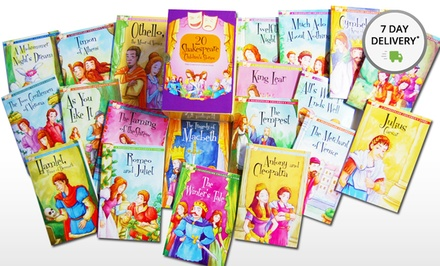 A Shakespeare Children's Story 20-Book Set