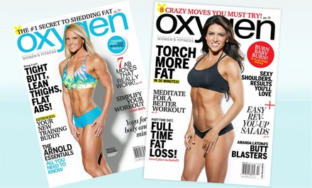 1-Year Subscription to Oxygen Magazine