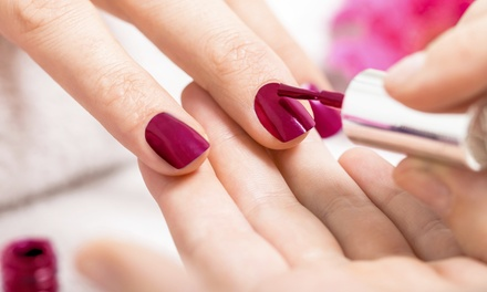 Shellac Manicure, Spa Pedicure, or Both at Acqua Organic Day Spa (Up to 50% Off)