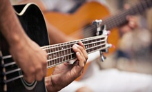 Two 60-Minute Guitar-Lesson Packages for One or Two People at Niagara Guitar Lessons (Up to 87% Off)