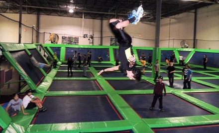 90 Minutes of Trampoline Jumping for Two or Four at Rebounderz (Up to 55% Off)