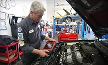 One or Two Punch Cards with Three Oil Changes, Up to Three Tire Rotations, and Other Services from Auto Care Super Saver (Up to 84% Off)