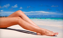 One or Three Organic Airbrush Tans at NY Sun Club (Up to 61% Off)