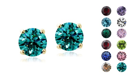 $5 – Swarovski Elements Birthstone Stud Earrings