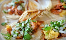 $10 for $20 Worth of Mexican Food and Drinks for Dinner at Sol Aztecas Mexican Restaurant