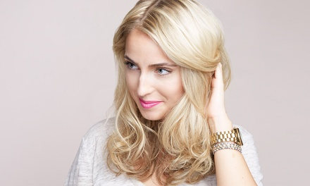 Women's Cut, Shampoo, Style, and Optional Color or Full Highlights at ArtWorks Hair Studio (Up to 52% Off)