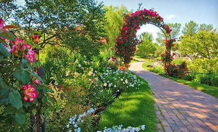 Idaho Botanical Garden Visit for Six Adults and Six Children, or Four Adults (Half Off)
