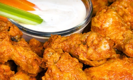 Pub Food at Off Broadway Pub (Up to 53% Off). Two Options Available.