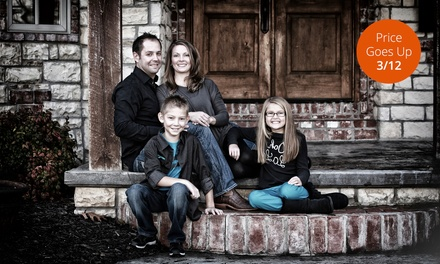 $39 for 60-Minute On-Location Portrait Session with Prints from CaraDee Photography (Up to $485 Value)