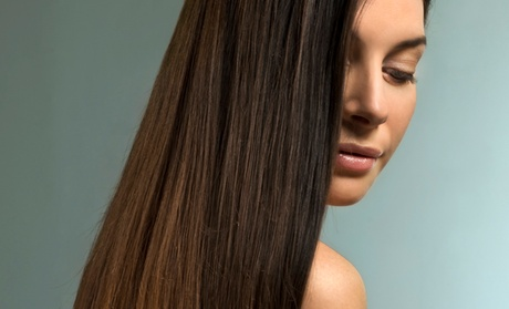 Haircut and Color, Japanese Straightening Treatment, or Brazilian Blowout at On Hair Salon (Up to 55% Off)