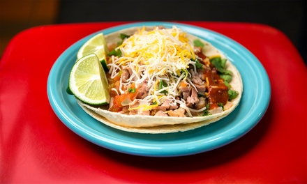 $18 for Two Groupons, Each Good for $15 Worth of Mexican Food at Taco Pronto ($30 Total Value)