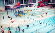 All-Day Athletic-Center and Waterpark Passes for Two or Four to Romulus Athletic Center (Half Off)