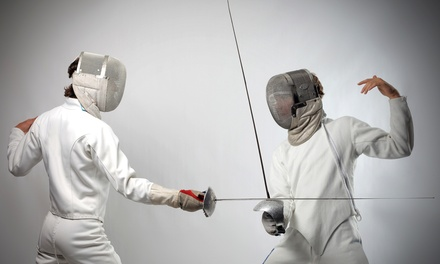Fencing Classes at Cheyenne Fencing and Modern Pentathlon Center (Up to 41% Off). Four Options Available.